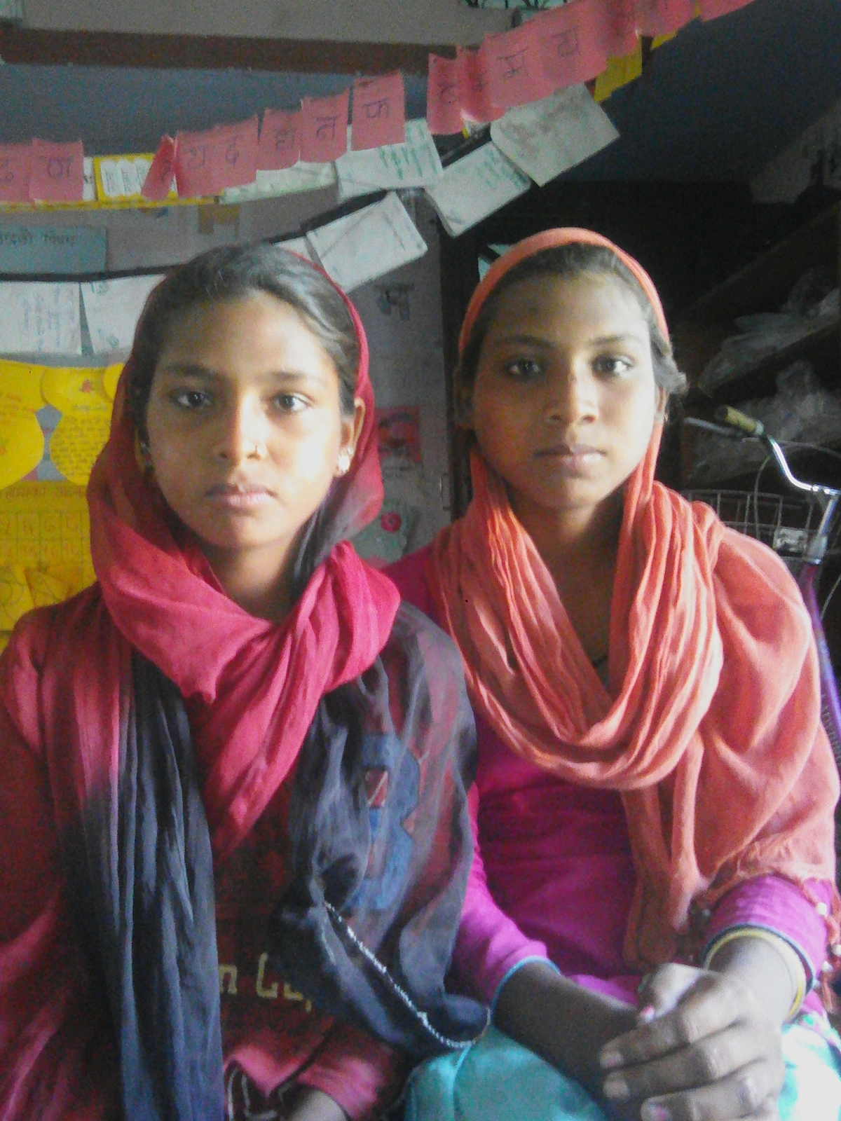 From garbage collection to knowledge collection! The story of two girls!