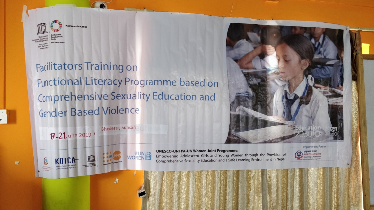 Empowering the Adolescent Girls and Young Women through the provision of Comprehensive Sexuality Education and a Safe Learning Environment