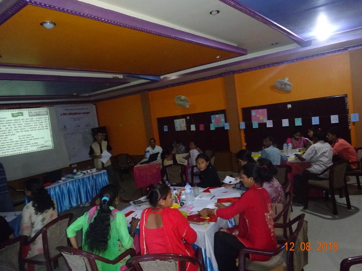 Alternative Learning Program (ALP) Facilitators capacity Buiilding Program